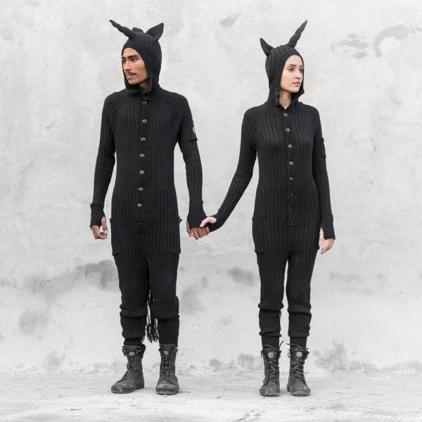 Blamotoy Black Unicorn Onesie