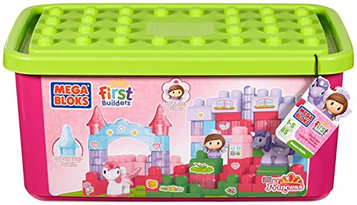 Buy Mega Bloks First Builders Lil Princess Unicorn Stable At Petals