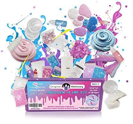 Buy Unicorn Slime Kit Supplies Stuff For Girls Making Slime