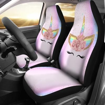 Colorful Unicorn Horn 3d Graphic Car Seat Covers Shop For Sale