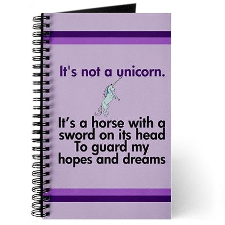Cute Unicorn Journal By Quotable