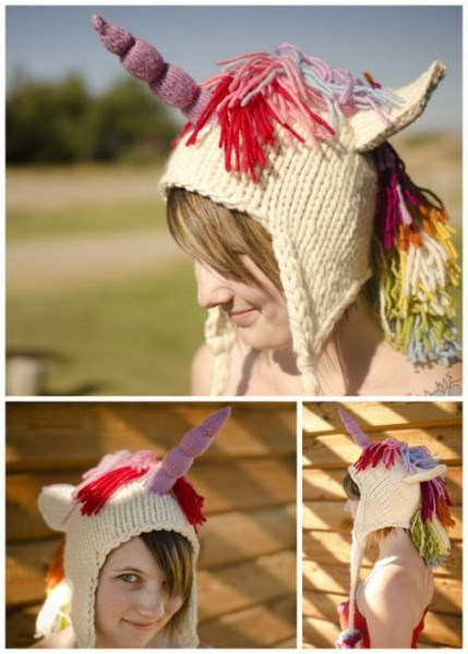 Diy Knit Unicorn Hat Free Pattern Download By Brittany Tyler On