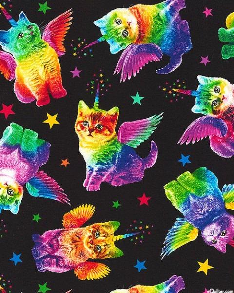 Equilter Rainbow Unicorn Cats