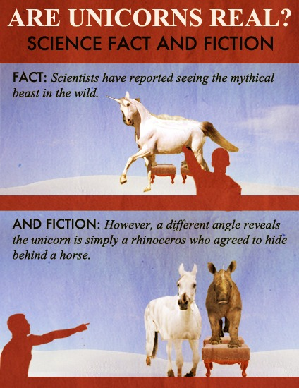 Fake Science — Are Unicorns Real