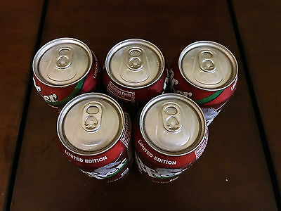 Five (5) Dr  Pepper Limited Edition Unicorn 12 Oz  Cans