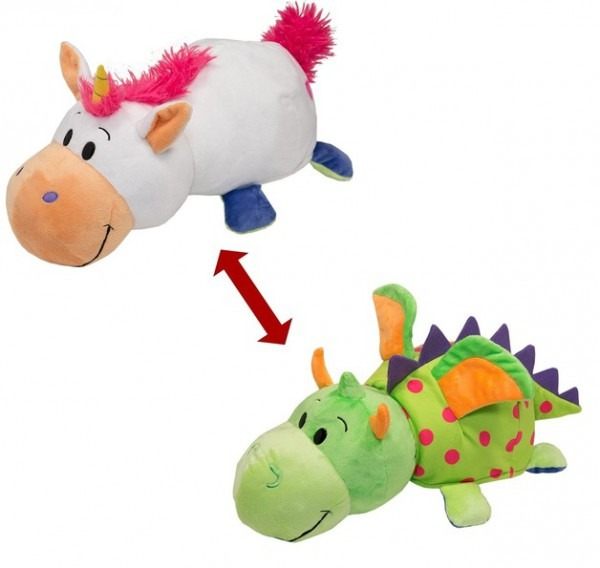 Flip A Zoo  Unicorn & Dragon