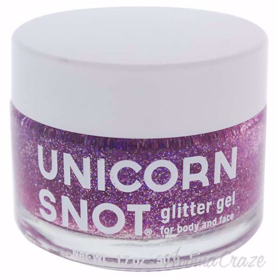 Glitter Gel For Body And Face Purple By Unicorn Snot For Women 1 7