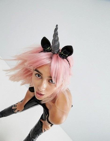 Halloween Dark Unicorn Headband