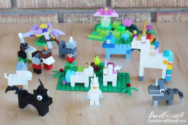 How To Build  Lego Unicorn Instructions