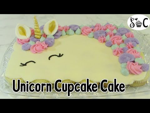 How To Make A Unicorn Cupcake Cake – Sweetwater Cakes