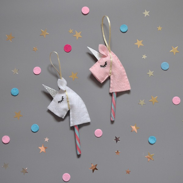 How To Make A Unicorn Hobby Horse Tree Decoration