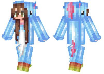 Minecraft Unicorn Onesie Skin