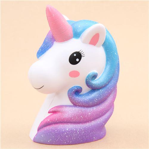 Kiibru Galaxy Unicorn Jumbo Squishy