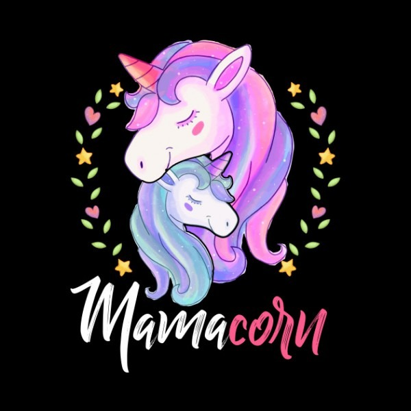 Mamacorn Unicorn Mom And Baby Mothers Day T