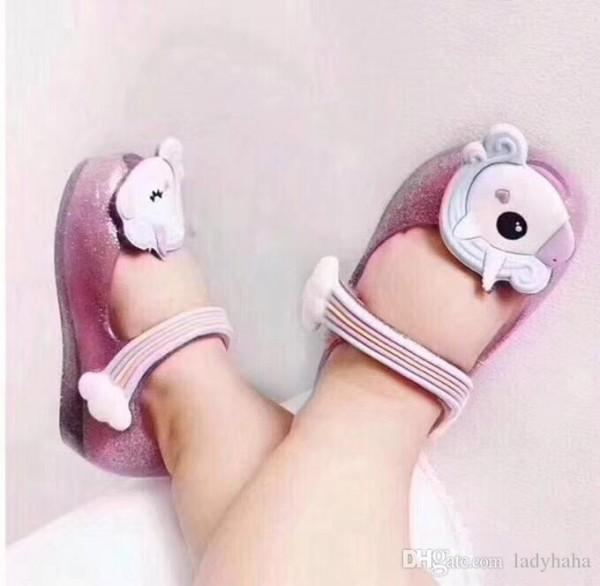 Mini Melissa Unicorn Infant Shoes New Winter Jelly Shoe Dargon