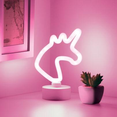 Mini Unicorn Neon Led Light