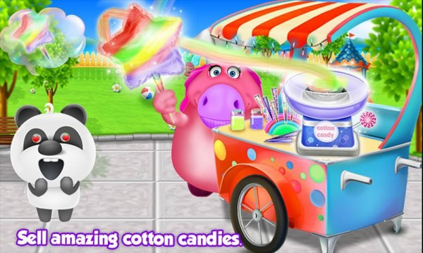 Mr  Fat Unicorn Cotton Candy Maker! Diy Cooking For Android