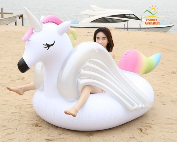New Design White Wings 2 75m 108in Giant Inflatable Rainbow