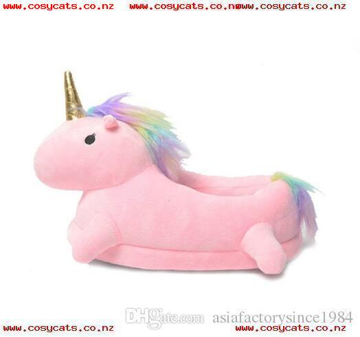 New Winter Lovely Home Flock Latex Solid Indoor Plush Unicorn