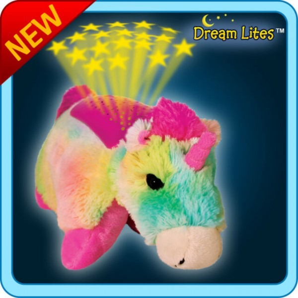 Dream Lite Rainbow Unicorn Pillow Pet