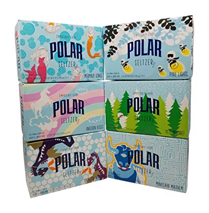 Polar 100  Natural Seltzer Jr