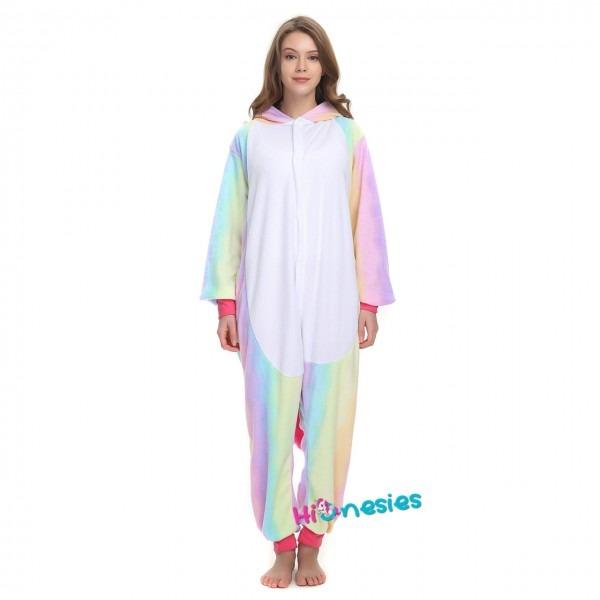 Rainbow Unicorn Onesie, Rainbow Unicorn Pajamas For Women & Men