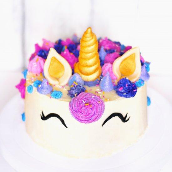 Raw Vegan Unicorn Cake