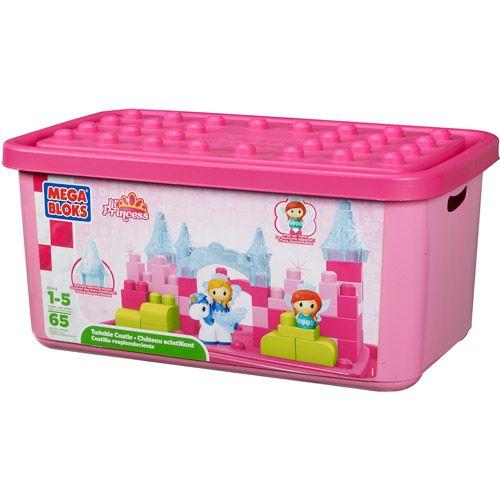 Sarah Mega Bloks Lil' Princess Twinkle Castle Tub Play Set