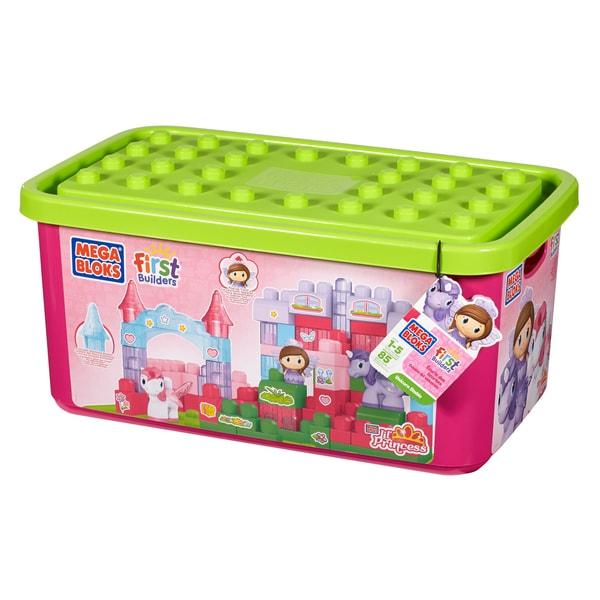 Shop Mega Bloks Lil' Princess Unicorn Stable Playset