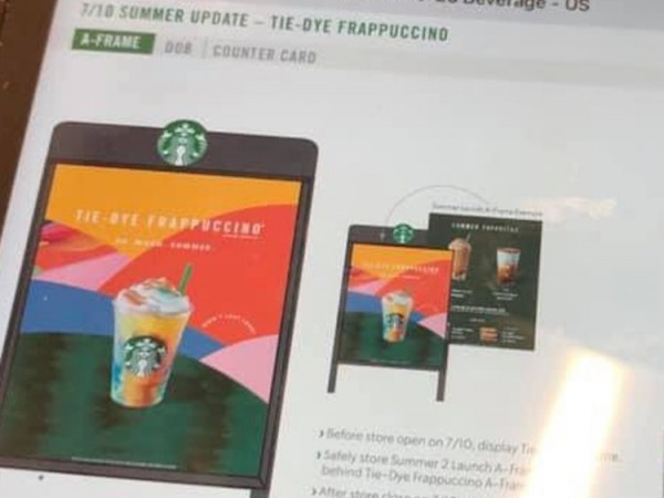 Starbucks' Tie