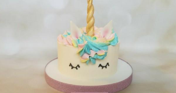 Sweet Unicorn Smash Cake – South Austin Cakes