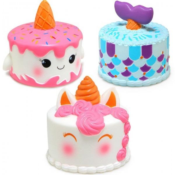Test Iklan Baru  Jumbo Squishy Cute Unicorn Mermaid Whale Cake