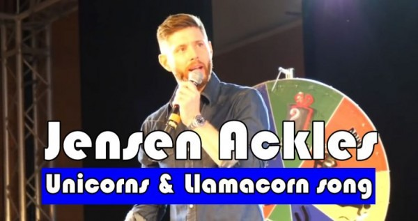 The Curious Case Of Jensen Ackles And The Llama Unicorn Song