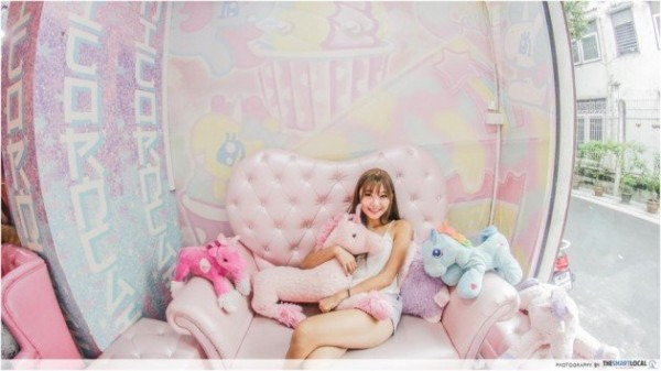 This Pink Unicorn Cafe In Bangkok Is Basically The Inside Of A