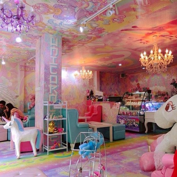 This Unicorn Café In Bangkok Is Like Finding The End Of The