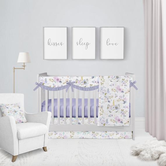 Twilight Unicorn Baby Bedding Crib Set Crib Bedding