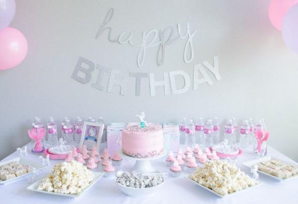 Unicorn 5th Birthday Party