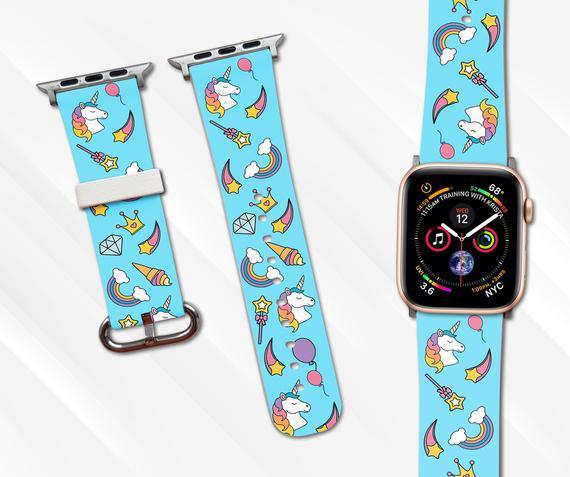 Unicorn Apple Watch Band 44mm 42mm Iwatch Band Unicorn Band