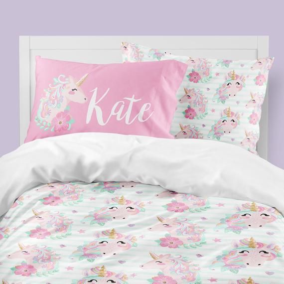Queen Size Unicorn Bedding