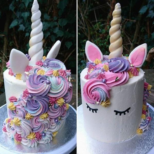 Unicorn Cake From @heartofcakelondon In 2019