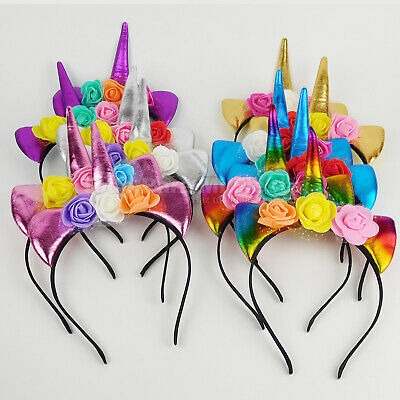 Unicorn Children Headbands Girl Party Favors Unicorn Party