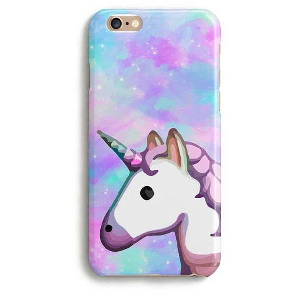 Unicorn Emoji Space Rainbow Iphone Case Cute Iphone Case 1p004b