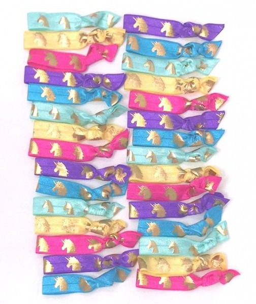 Unicorn Hair Ties Favor Bulk Unicorn Hair Ties Unicorn Party