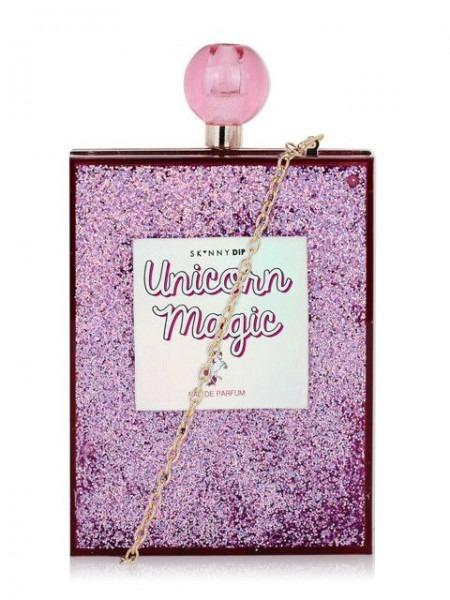 Unicorn Magic Glitter Clutch