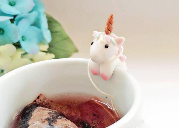Unicorn Ornament Unicorn Tea Bag Holder Rocking Unicorn
