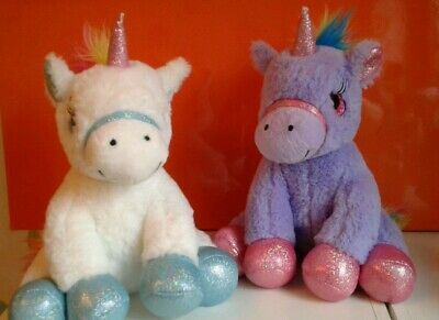 Unicorn Rainbow Lilac White Unicorn Bundle Soft Toys Gosh Designs
