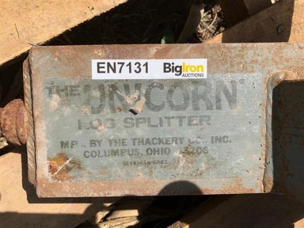 Unicorn Rotary Log Splitter Bigiron Auctions