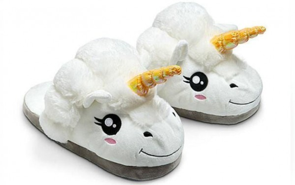 Unicorn Slippers – Unicorn Plush Womens House Slippers – Vingloo