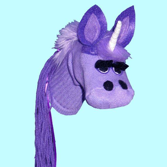 Unicorn Sock Puppet