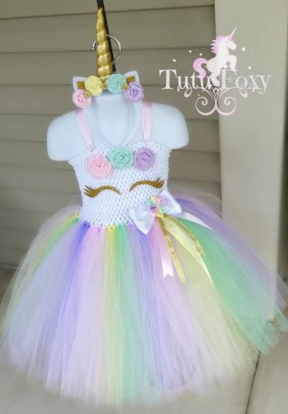 Unicorn Tutu Dress, Unicorn Dress, Unicorn Costume, Unicorn